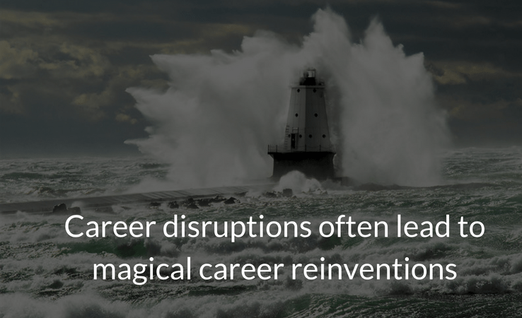lighthouse image career disruption