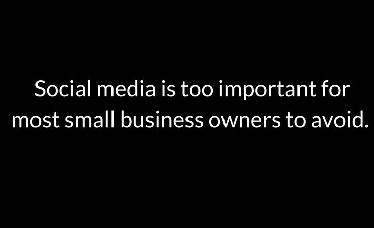 Social Media for small business owners is a must
