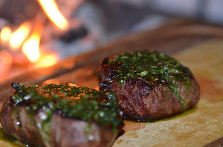 Fillet Mignon Steak Grilled