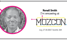 Emceeing MozCon 2017 helped build personal brand